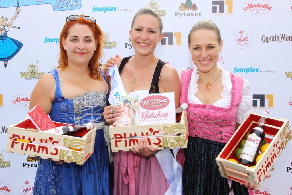 Siegerin, Die 1. Dirndl-Flug WM 2016 in Nürnberg