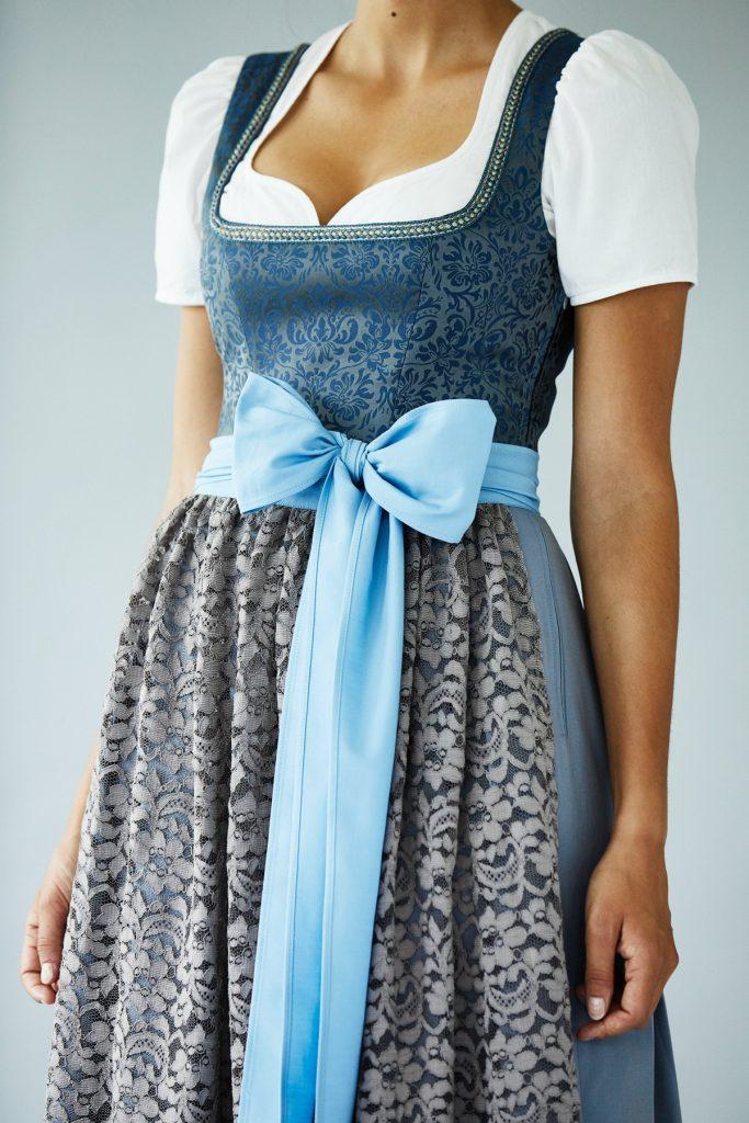 Céline Vogel Dirndl Sitelle bleu 2