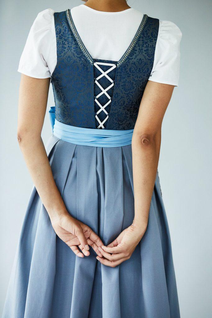Céline Vogel Dirndl Sitelle bleu 3