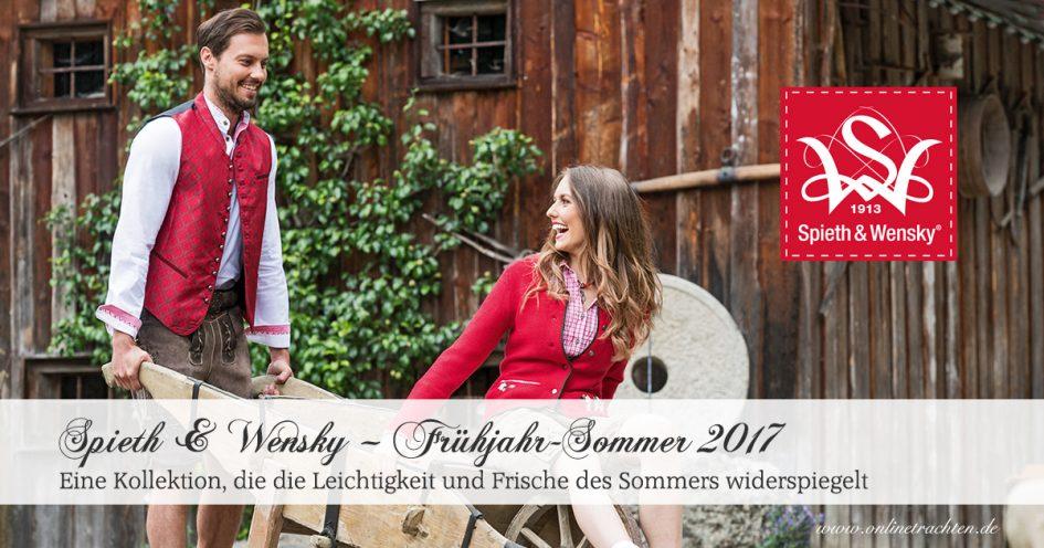 Spieth & Wensky – Frühjahr-Sommer 2018