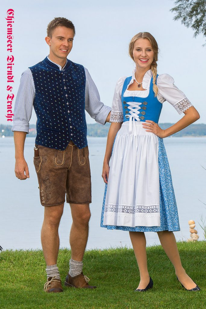 Hemd & Weste Benedikt, Dirndl Priental