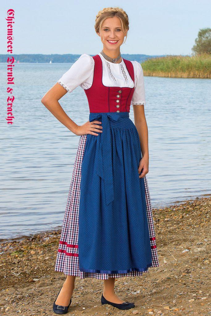 Chiemseer Dirndl & Tracht - Blusendirndl Griessee