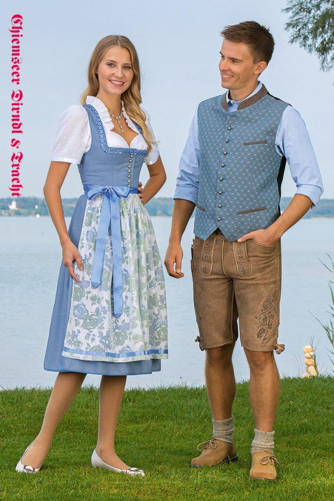 Dirndl Isartal - Hemd, Weste und Hose Florian