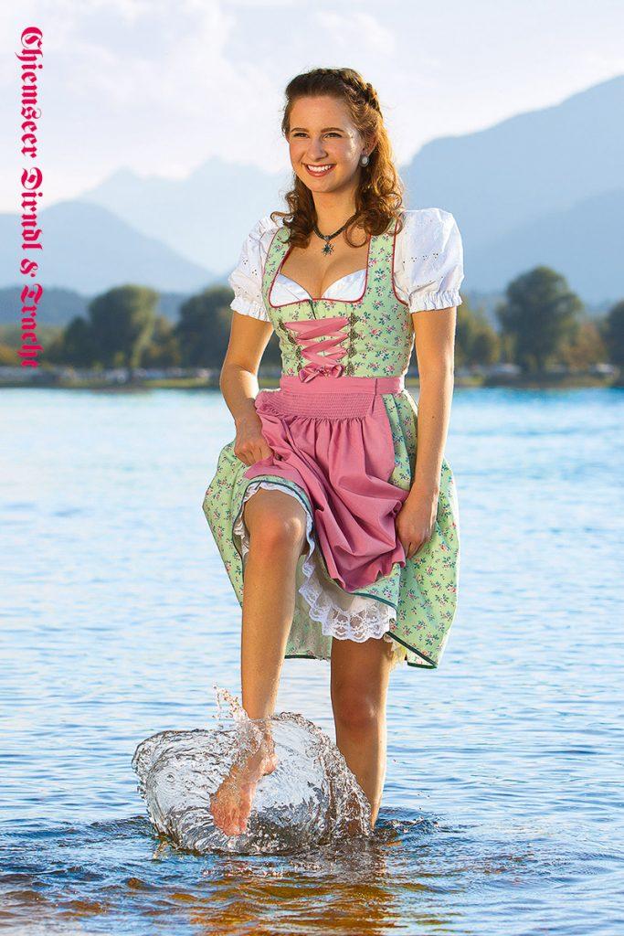 Chiemseer Dirndl & Tracht - Blusendirndl Schöntal