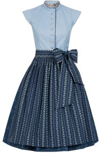 CocoVero Dirndl Beverly Steel Blue