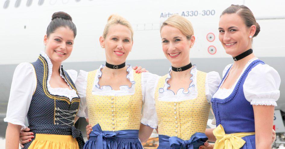 Die Lufthansa Trachtencrew 2014