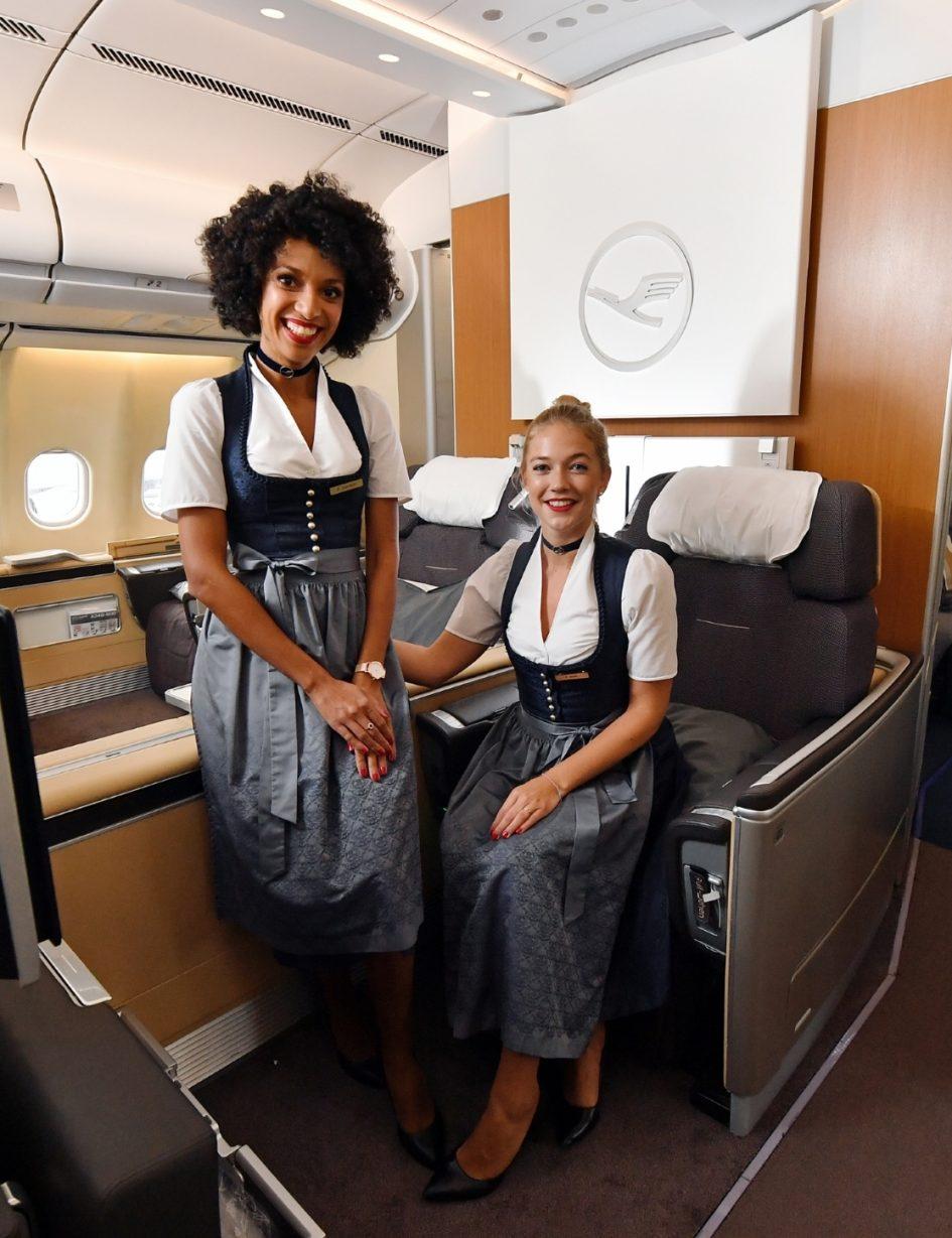 Die Lufthansa-Trachtencrew 2017