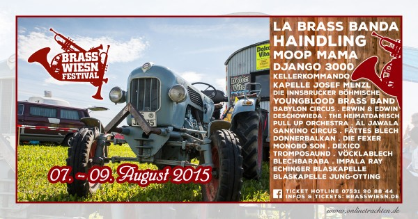 Brass Wiesn Festival 2015