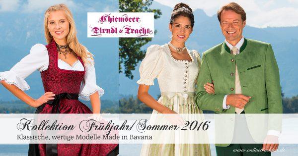 Chiemseer Dirndl & Tracht – Kollektion Frühjahr/Sommer 2016