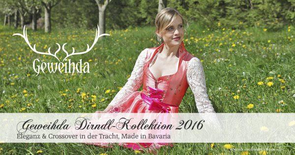 Geweihda Dirndl-Kollektion 2016