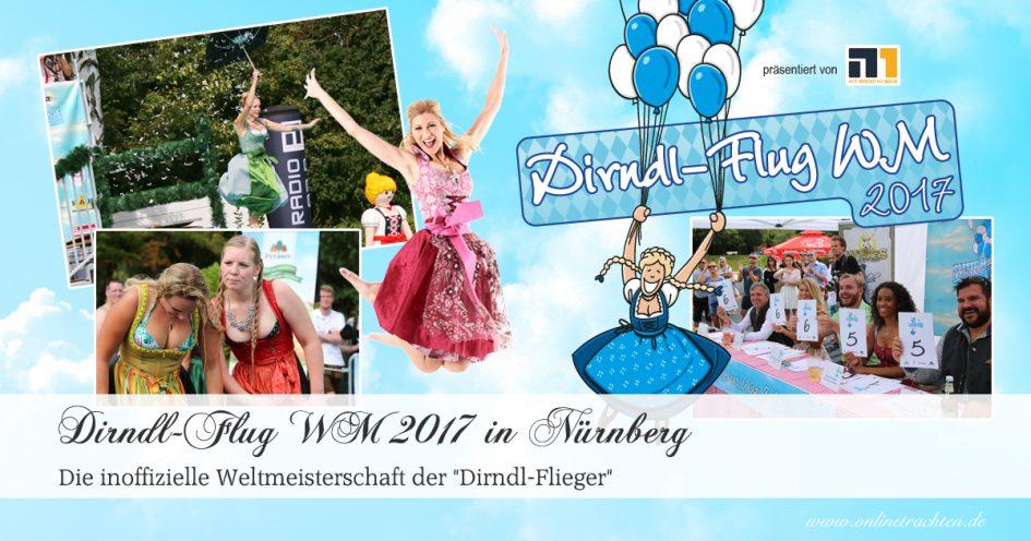 Die Dirndl-Flug WM 2017 in Nürnberg
