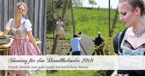 Shooting Dirndlkalender 2018