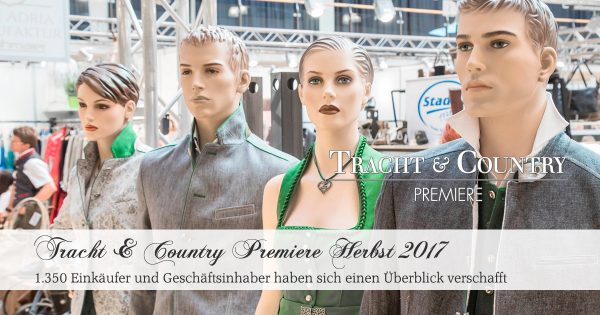 Tracht & Country Premiere Herbst 2017 / Foto: Kolarik Andreas