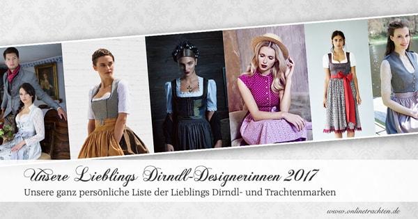 Unsere Lieblings Dirndl-Designerinnen 2017