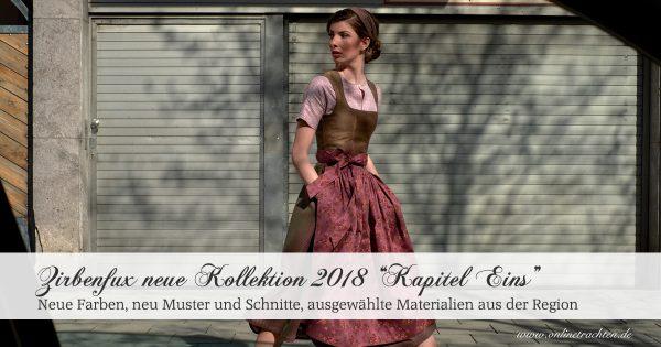 """Zirbenfux Kollektion 2018 """"Kapitel Eins"""""""