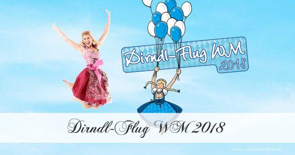 Dirndl-Flug WM 2018 in Nürnberg