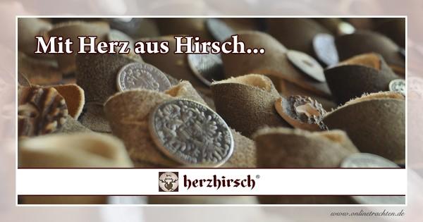 herzhirsch - Mit Herz aus Hirsch...