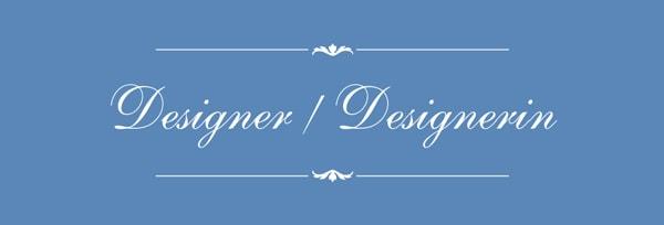Kategorie Designer / Designerin