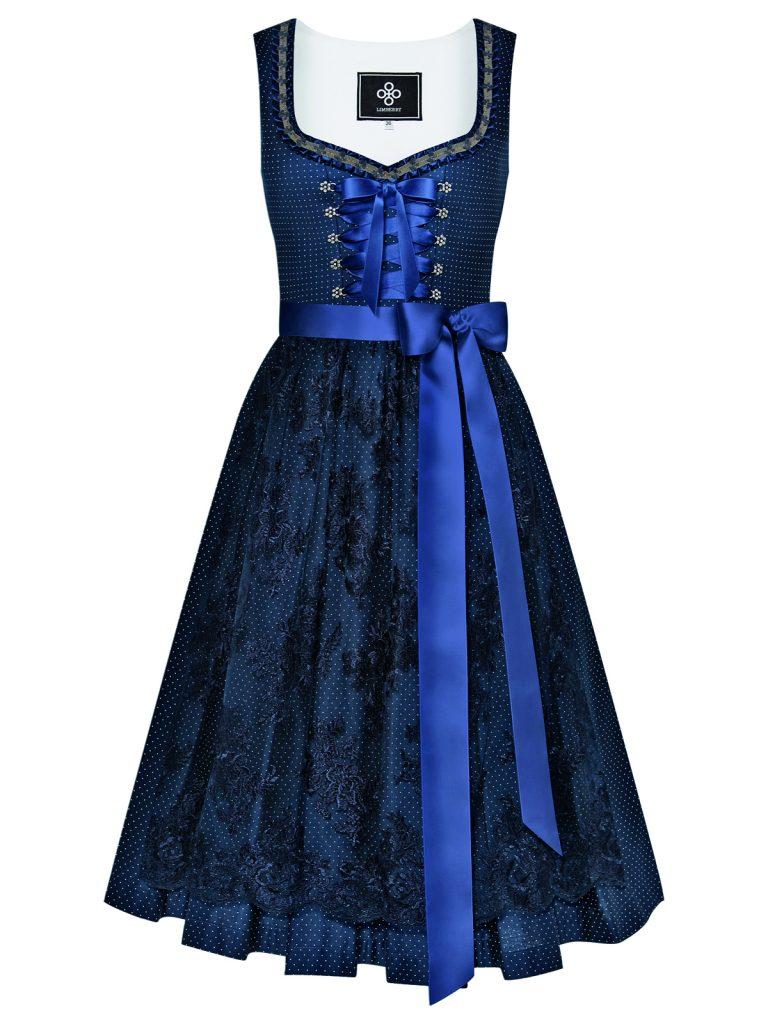 Limberry Dirndl Alpenkönigin Blau